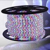 AC 220V RGB LED Strip Light SMD 5050 Waterproof Flex Tape 60Leds/m