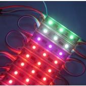 3LEDs SMD 5050 Programmable 12V WS2801 LED Pixel Module String Light