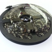 Black PCB 5m 300Leds 5050 RGB LED Strip Waterproof Flexible Light