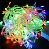 Mutiple Color Christmas String Lights 10M 100 LEDs Decoration Light 3Pcs