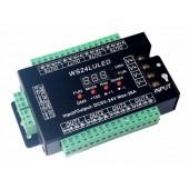 WS24LULED 5-24v Digital Display 24ch Dmx512 Decoder Control
