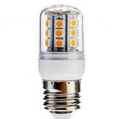 Dimmable 4W 30LED 400LM SMD 5050 E27 LED Corn Light Bulb Lamp