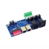 DMX-NET-K-3CH-BAN 3 Channel With RJ45 Easy Dmx512 Led Decoder