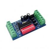 MINI-DMX-3CH-V1 5v-24v Decoder Led Rgb Controller
