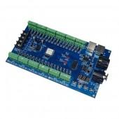 WS-DMX-36CH-HV 5-36v 12 Groups RGB Easy 36ch Dmx512 XRL 3P Decoder Dimmer