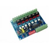 WS-DMX-HVDIM-6CH 6 Channels LED Dimmer High Voltage DMX512 Decoder
