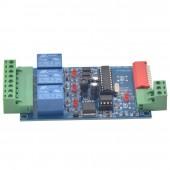 WS-DMX-RELAY-3CH-BAN 12v 10A*3 Channel DMX512 Relays