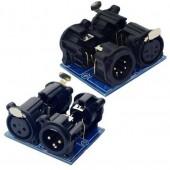 XLR3-3P Dmx512 Relays Connector