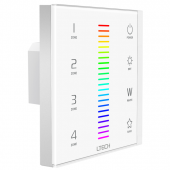 EX8 RGBW LED Touch Panel LTECH Wall Mounted Controller