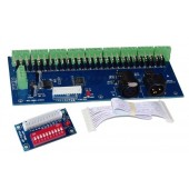 WS-DMX-27CH-DIPZ Decoder Dmx512 XRL 3P Led Controller Dimmer Drive