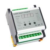 Leynew DMX701 DMX four Channels Rail Decoder LED Controller