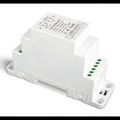 LTECH DIN-711-12A DIN-Rail 1-10V LED Dimming Driver 12-24V DC