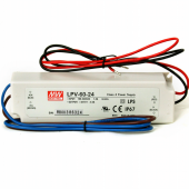 Mean Well 60W Single Output Switching Power Supply LPV-60 Series