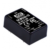 DCW03 3W DC-DC Mean Well Regulated Dual Output Converter Power Supply