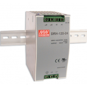 DRH-120 120W Mean Well Single Output Industrial DIN RAIL Power Supply