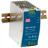 NDR-240 240W Mean Well Single Output Industrial DIN RAIL Power Supply