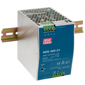 NDR-480 480W Mean Well Single Output Industrial DIN RAIL Power Supply