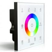 LTECH DX8 4 Zones Controller RGBW Touch Panel RF 2.4G DMX512 Output