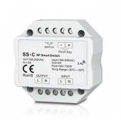 SS-C Skydance Led Controller Non-Dimmable 100-240VAC 3A RF 2.4GHz & Push switch