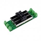 Leynew Single Color LED Strip Dimmer 12-24V Sliding Switch LN-HDIMMER-3CH-LV