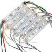 SMD 5050 LED Modules IP65 Waterproof DC 12V 3 Leds Sign Backlights 20pcs
