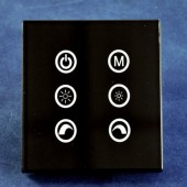 TM03 Touch Panel 6 Buttons Dimmer Controller for RGB LED Strip